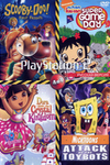 Dora The Explorer: Dora Saves The Crystal Kingdom / Ni Hao Kai Lan Super Game Day / Scooby-Doo! First Frights / Nicktoons Attack Of The Toybots (PS2)