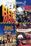 BEE MOVIE GAME (PS2)/ CARS MATER NATIONAL (PS2)/ ASTERIX AT THE OLYMPIC GAMES (PS2)/ CHICKEN LITTLE АСЕ IN ACTION (PS2)