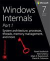 Yosifovich P., Ionescu A., Russinovich M.E., Solomon D.A. - Windows Internals, Part 1, 7th Edition