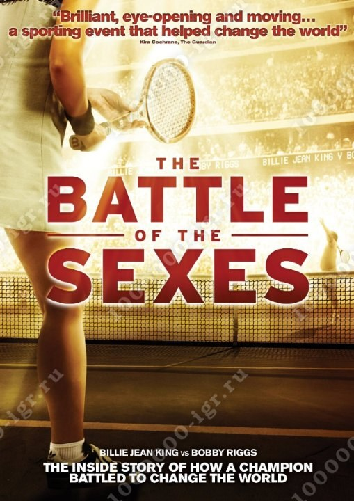 a description of the battle of the sexes Battle of the sexes had such reverberations for the whole of society, which is an indication of what society was like if the fact that a woman beat a man at tennis would be a huge cultural shift it tells you a lot about the culture.